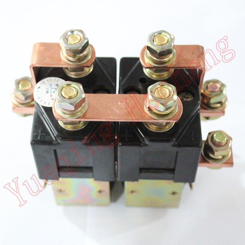 Heavy Duty 48V 200Amp Solenoid for Albright SW182 type Reversing Contactor dc reversing contactor dc182b 537t for forklift 48v 200a zapi b4dc21