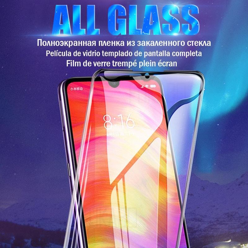 5D Full Cover Tempered Glass For Xiaomi Redmi Note 7 6 Pro Redmi 4X 5 Plus 6 Pro 6A Screen Protector Film For Redmi Note 5 Glass
