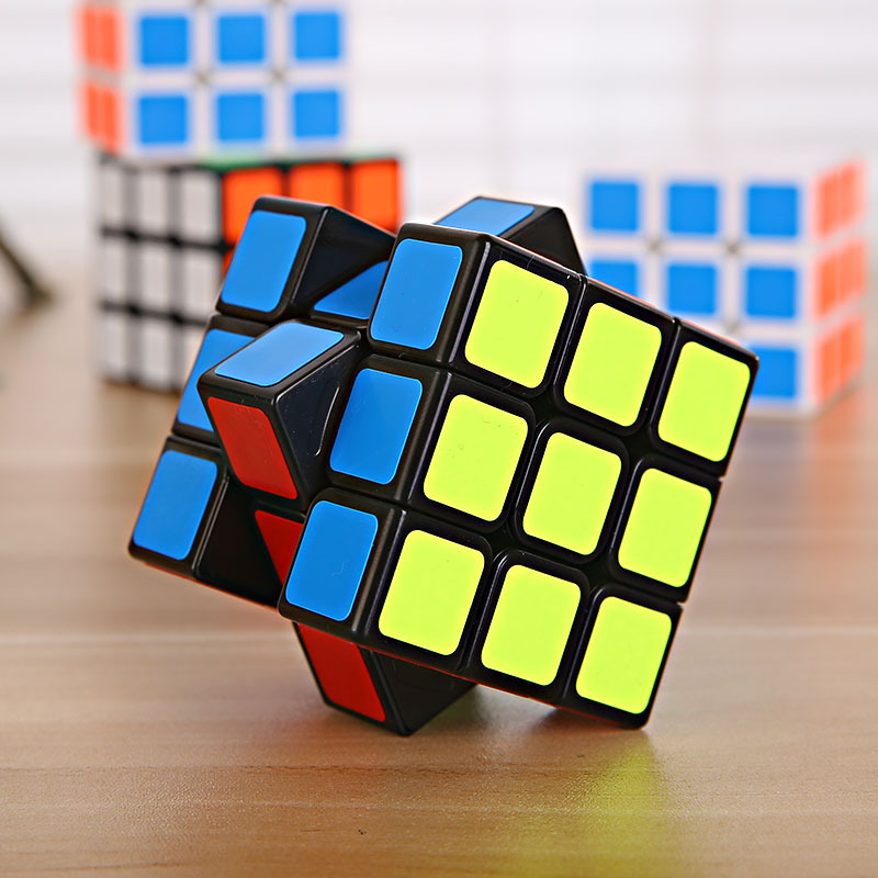 Free Shipping Children's Magic Toys Cube 3x3x3 Stickers Cube Children's Toys Cube For Kids Learning & Educational