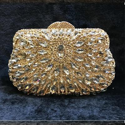 multi 2 bleu Rose Embrayages D'embrayage Soirée Clair vert gold Banquet Noir Main champagne Strass Bourse Cocktail Sacs bleu Sac Femmes De À 1 Or Cristal Noce gold Diamant qTafFTxB