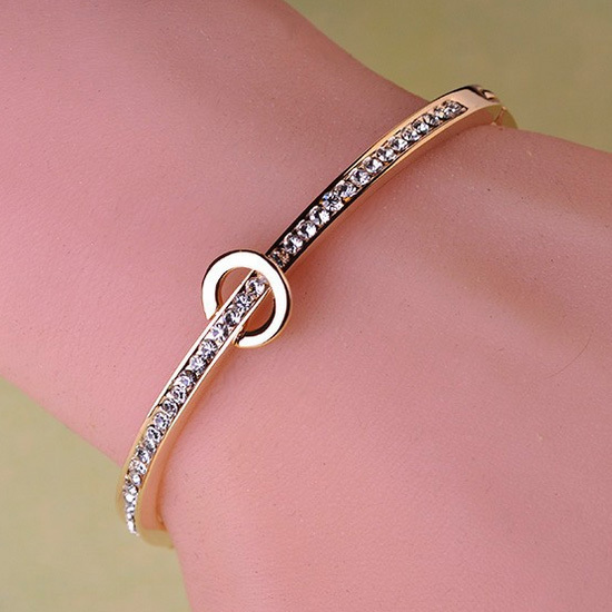 Gold bangle bracelets for women for Buying jewelry on aliexpress