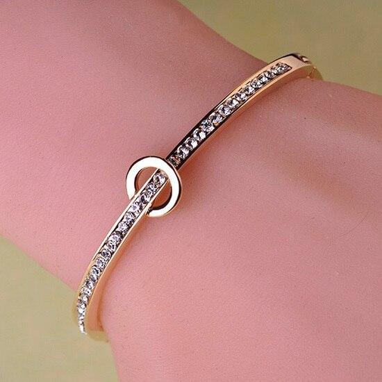 Золотой браслет для девушки цена
