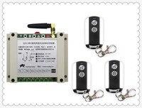 Latest DC12V 24V 36V 48V 10A 2CH Wireless Remote Control Switch System 1pcs Receiver 3pcs 2