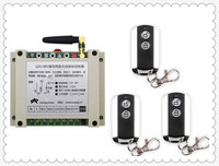 Latest DC12V 24V 36V 48V 10A 2CH Wireless Remote Control Switch System 1pcs Receiver 3pcs 2