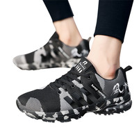 Men's Breathable Running Shoes Casual Sports Shoes camouflage version Sneakers for men women Professional Training Shoes #2s11#F