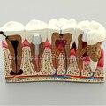 NOVA Prótese Dentes modelo de 4X, modelo de anatomia da cárie, modelo de cárie dentária, Dentista para o Ensino Da Ciência Médica