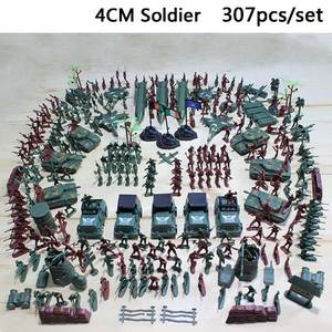 Figure-Toy Accessories-Kit Model-Set Decor Education-Toys Plastic Soldiers Military Army Men