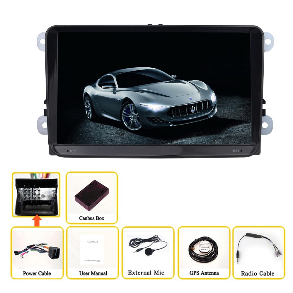 9 Inch Android 6.0 Car Multimedia Player For VW Passat B6 Car Audio Quad  Core 1024*600 Car Stereo Free MAP Without DVD-in Car Multimedia Player from  ...