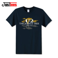 Free Shipping Aliexpress UK U2 The Joshua Tree 30th Anniversary T Shirt Men 2017 World Concert