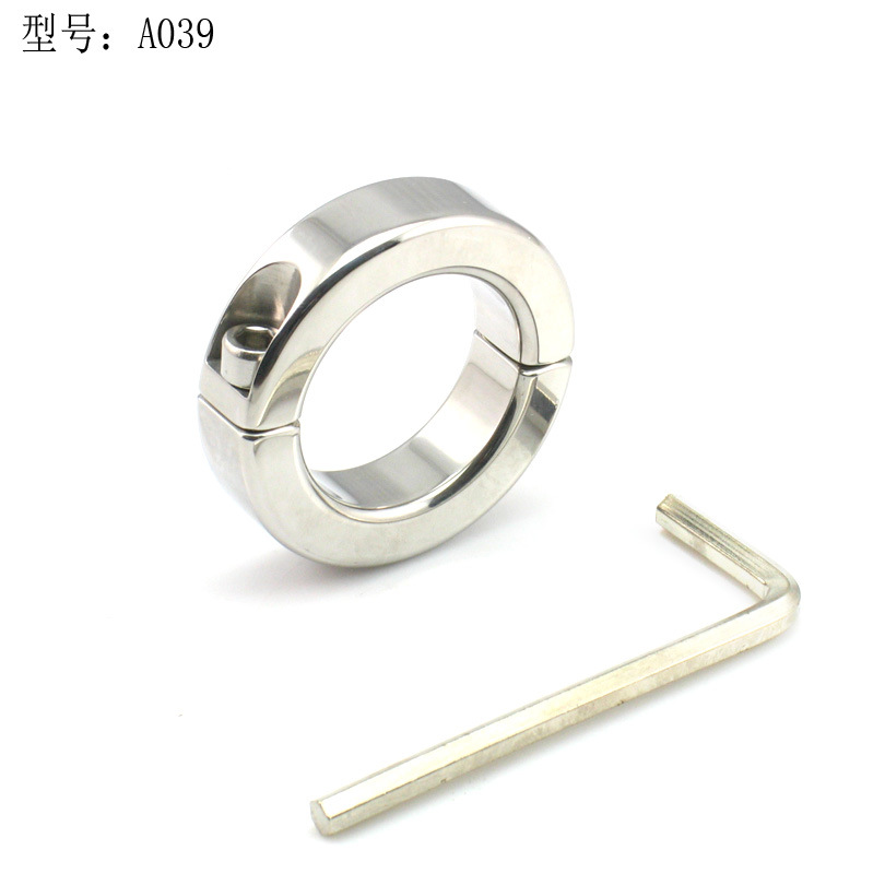 Stainless Steel Metal Penis Rings Delay Ejaculation Penis Lock,Scrotum ring Cock Ring Clamp Adult Game chastity male Sex Toy wearable penis sleeve extender reusable condoms sex shop cockring penis ring cock ring adult sex toys for men for couple