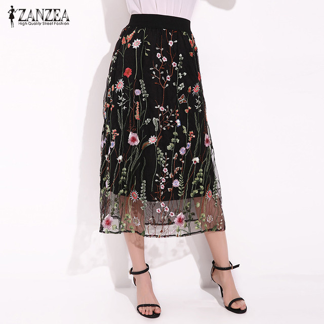 Embroidered Skirts