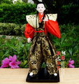 Японские куклы Японский самурай ниндзя гуманоид кукла Японский украшения дома куклы праздник подарок On Wooden Base ningdie