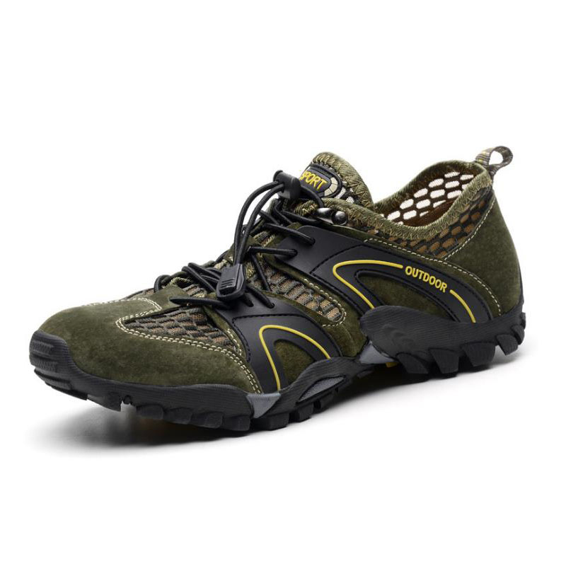 Men s Summer Outdoor Water Aqua Sea Barefoot Hiking Sandals Shoes Sneakers For Men Trekking Fishing