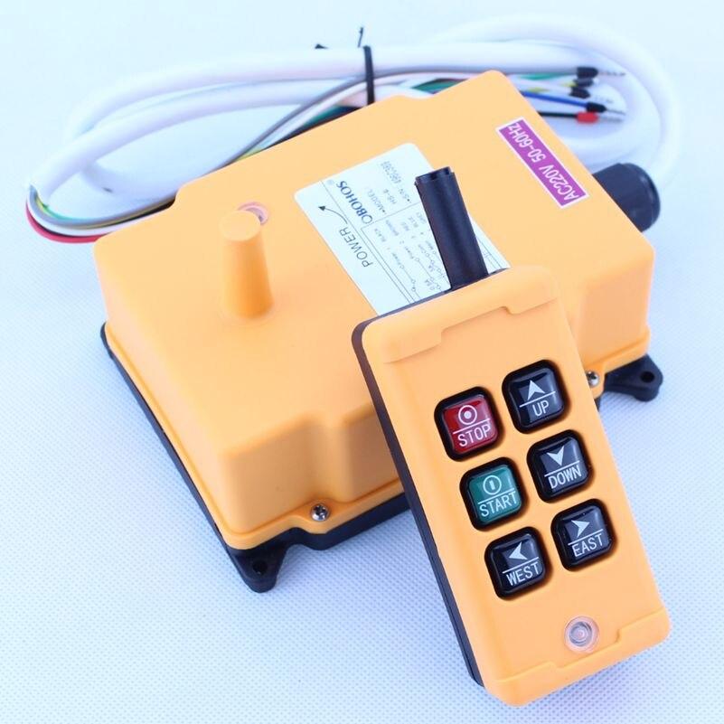 HS-6 подъемный кран пульт дистанционного управления беспроводной радио uting дистанционный пульт 380vac 220vac 36vac 12vdc-24vdc
