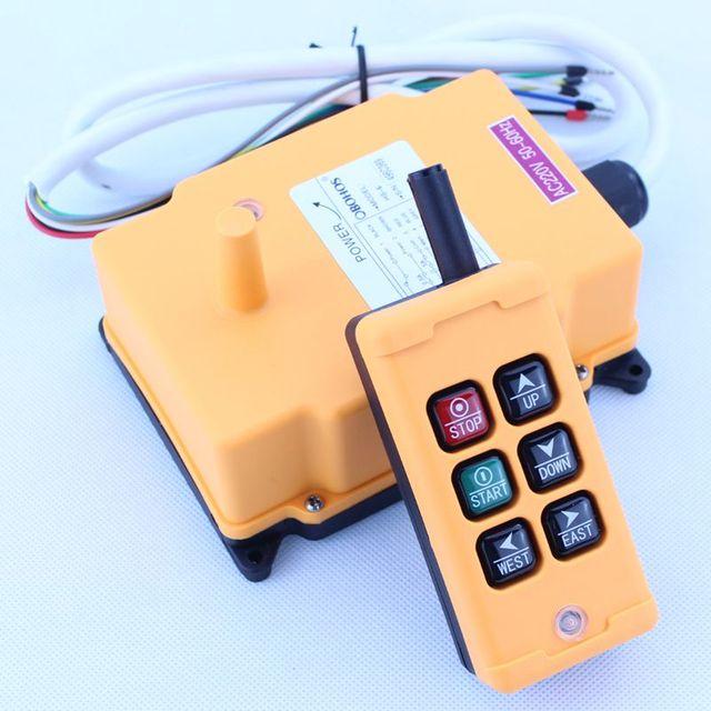 Hs 6ホイストクレーンリモコンワイヤレスラジオutingリモートコントロール380vac 220vac 36vac 12VDC 24VDC