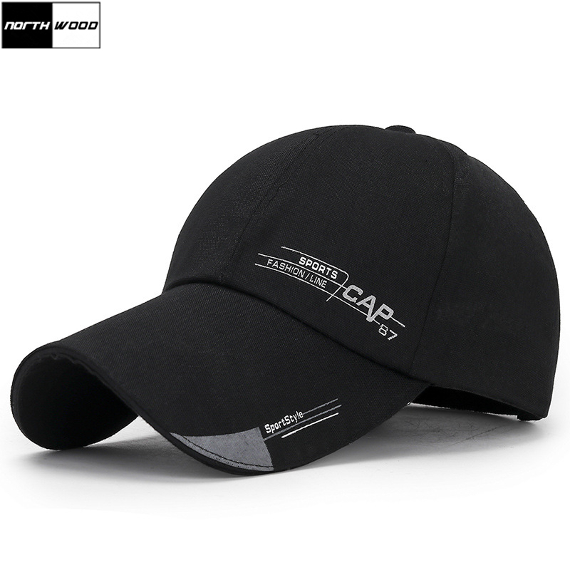[NORTHWOOD] Sports Summer Baseball Cap Men Women Dad Hat Gorra Hombre Snapback Outdoor Trucker Cap