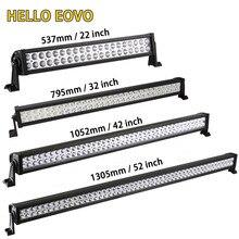 Hello eovo 22 32 42 52 дюймов светодиодные панели свет работы для вождения внедорожнике тягач 4×4 внедорожник ATV 12 В 24 В