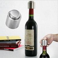 حار بيع المقاوم للصدأ فراغ زجاجة مختومة تخزين زجاجة النبيذ الاحمر سدادة التوصيل كاب