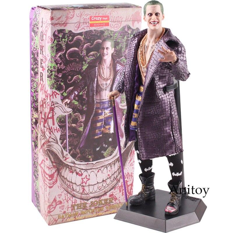 DC Comics Joker DC Jack Бэтмен самозванец версия Лига Справедливости отряд самоубийц Джокер фигурку игрушки куклы подарок 31 см