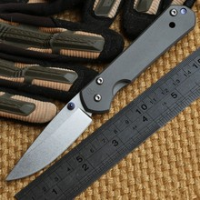 Ben small sebenza 21 D2 TC4 titanium handle folding knife camping hunting outdoor survival tool pocket EDC Knives tools