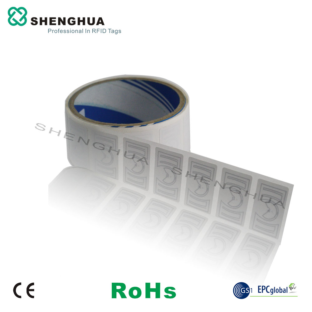 50pcs lot low cost passive uhf rfid barcode logo printed label sticker tags warehouse management sticker printing