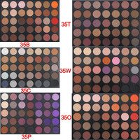 2016 New Fashion 35 Color Eyeshadow Palette Earth Warm Color Shimmer Matte Beauty Makeup Set Smoky
