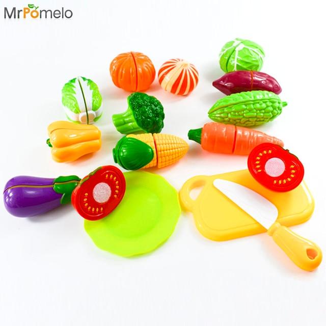 Mrpomelo taglio di verdure della cucina set giocattoli per - Il gioco della cucina ...
