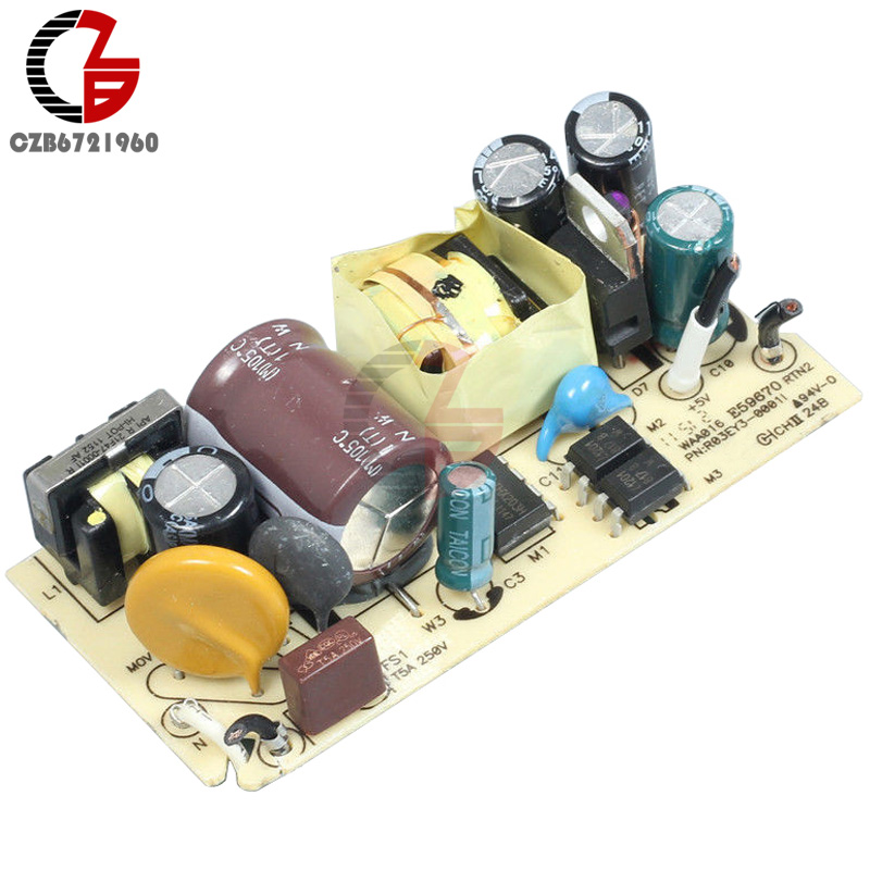 AC-DC AC 100V-240V to DC 5V 2A 2000MA Switching Power Supply Module Overvoltage Overcurrent Short Circuit Protection DIY Switch free shipping 5pcs lot wcs1600 hall current sensors measuring 100a short circuit overcurrent protection module
