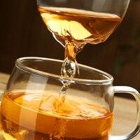 3Pcs Set Transparent Clear Glass Milk Mug Coffee Tea Cup With Tea Infuser Filter Lid 2016
