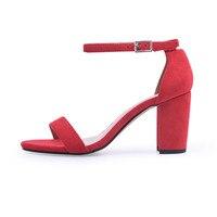 Ankle Strap Heeled Sandals 7