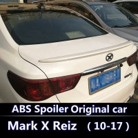 For Mark X Reiz spoiler For 2010 2012 2013 2014 2015 2016 2017 Toyota Mark X ABS Plastic Unpainted Primer Rear Wing Lip Spoiler