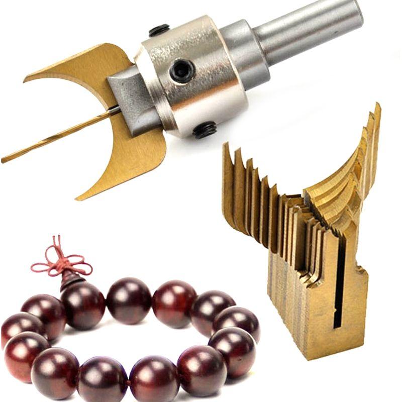 Carbide Ball Bits Blade Woodworking Milling Cutter Molding Tool Buddha Beads Router Bit Drills Set|Drill Bits| |  - title=