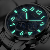 2018 AESOP Automatic Mechanical Watches Men Top Brand Luxury Business Waterproof Stainless Steel Male Clock Relogio Masculino