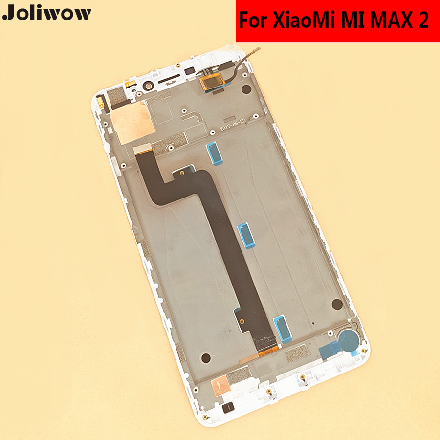 tested For XiaoMi MI MAX 2 MAX2 LCD Display Touch Screen With frame Digitizer Assembly Replacement