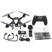 SJ R/C S30W 2.4G Dual GPS Positioning FPV RC Quadcopter Drone with 720P Adjustable Wide Angle Wifi Camera Follow Me Hovering