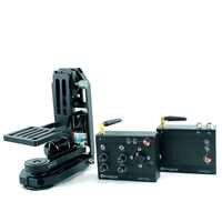 Powerkam PT-0 & wl200 2.4g cabeça motorizada pan tilt câmera sem fio para 200m em área aberta para bmd, bmmc, gh4, dslr