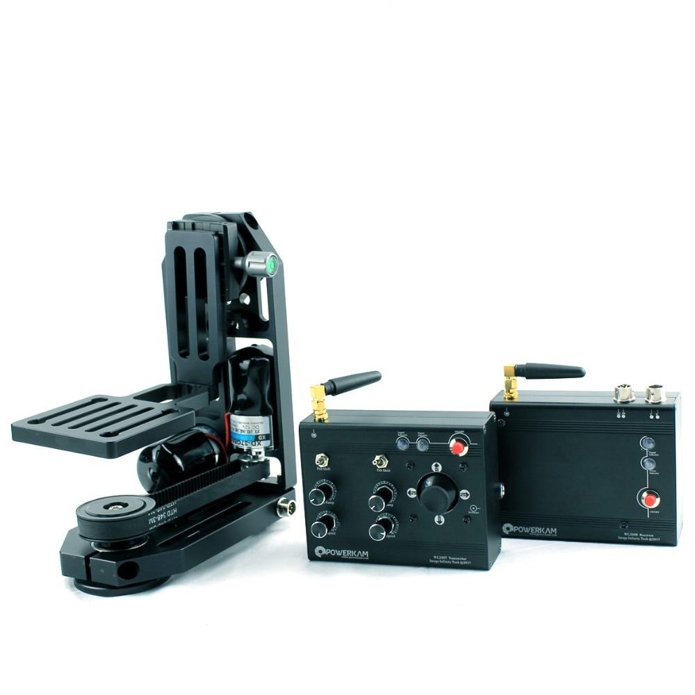 POWERKAM PT-0&WL200 2.4G wireless motorised pan tilt camera head for 200m in open area for BMD,BMCC,GH4,DSLR original projector lamp et lab80 for pt lb75 pt lb75nt pt lb80 pt lw80nt pt lb75ntu pt lb75u pt lb80u