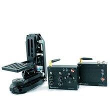 POWERKAM PT-0&WL500 2.4G wireless motorised pan tilt camera head for 500m in open area for BMD,BMCC,GH4,DSLR powerkam pt 1s