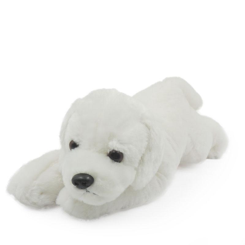 Sales 30cm Cute Puppies Stuffed Animals Dogs Plush Toys Brown Black