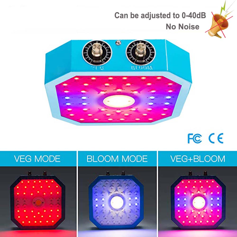 NEW 1000W Dimmable Led Plant Grow Lamp COB Full Spectrum Phyto Lmap For Flower Hydroponics Indoor Garden Seedling NO Noise