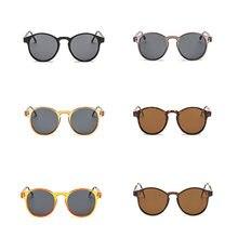 2018 nueva llegada ronda gafas de sol Retro de las mujeres de los hombres, diseñador de marca, gafas de sol revestimiento clásico espejo conductor gafas