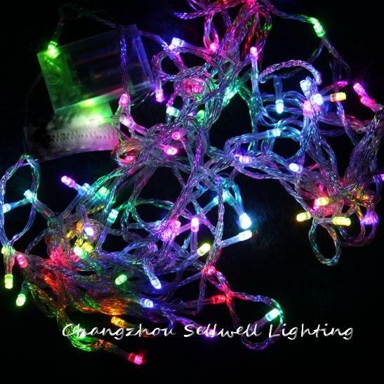 GOOD!LED festival lighting 10m coloured LED battery lamp H177