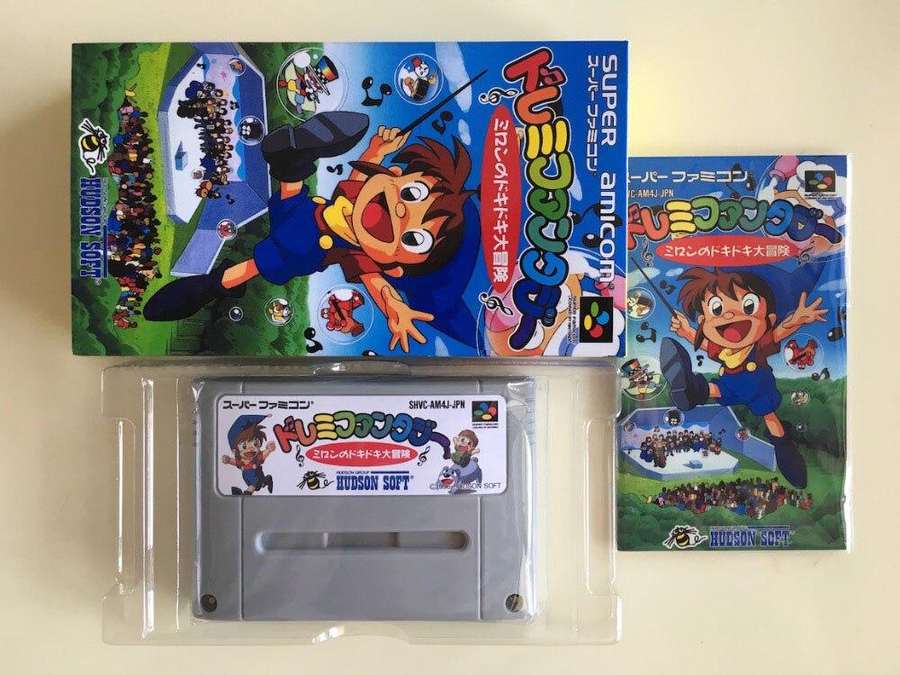 16Bit Games ** Doremi Fantasy ( Japan NTSC-J Version!! Box+Manual+Cartridge!! )16Bit Games ** Doremi Fantasy ( Japan NTSC-J Version!! Box+Manual+Cartridge!! )