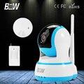 Беспроводная Ip-камера HD 720 P PTZ Smart P2P Wi-Fi Onvif крытый Видеонаблюдения CCTV + Инфракрасный Motion Sensor + Дым детектор