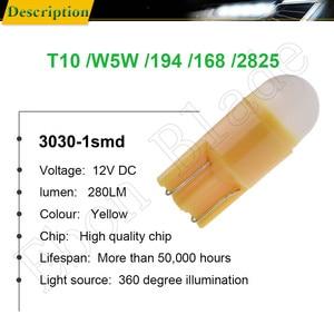 Image 2 - 2 x w5w led t10 194 168 자동차 조명 led 3030 1smd 자동차 자동차 인테리어 돔 독서 전구 라이센스 도어 램프 drl 자동차 스타일링 12