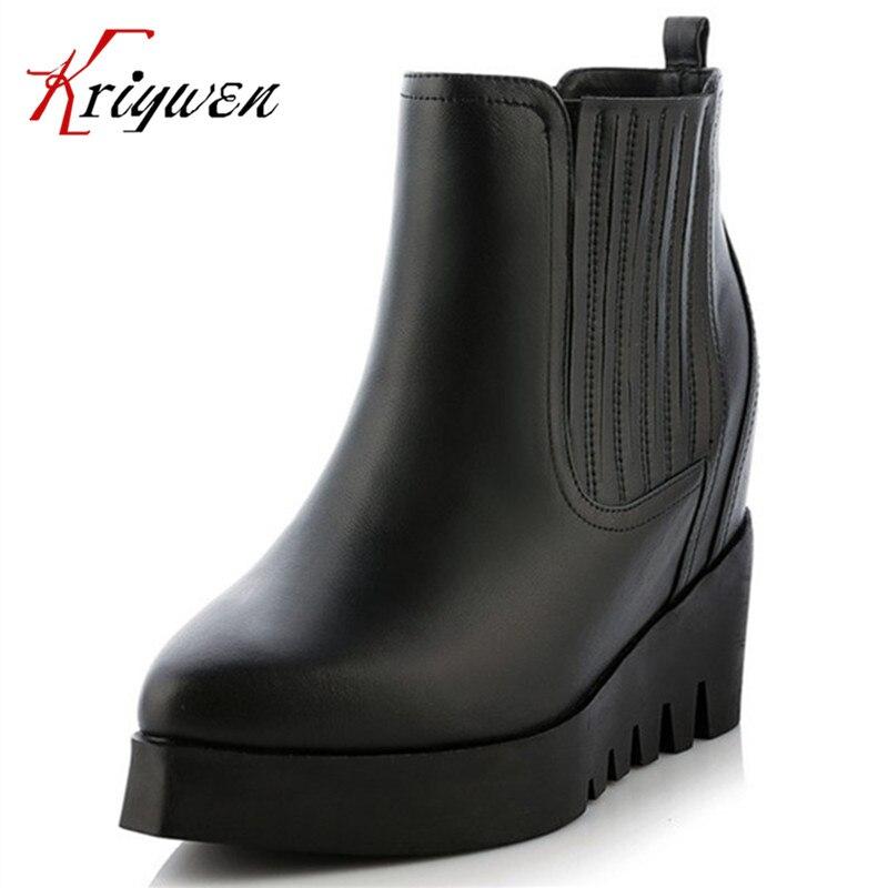 Здесь продается  Hot sale 2016 winter warm fahsion women shoes genuine leather solid designer brand high heels 100% cow pointed toe ankle boots  Обувь