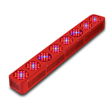 BOSSLED GoldenRing L8 1680W LED Grow Light Modular Design with Penetration Lens For Medical Flower Plants Vegetative