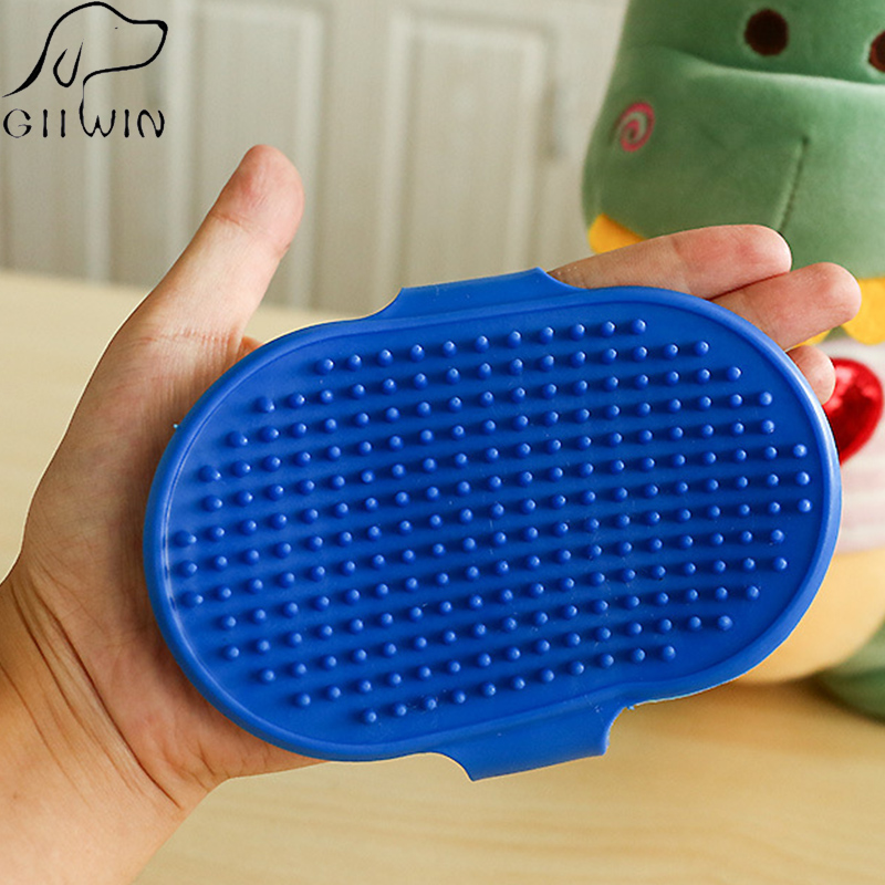 Pet Hair Glove Brush For Cat Dogs Combs Grooming Tool Shedding Glove Dog Comb Hackle For Cats Supplies Animals Care Brush Yt0007