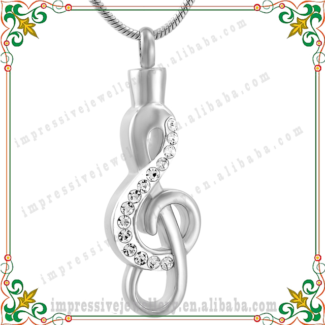 Cmj9560 memorial necklace keepsake jewelry cremation jewelry cmj9560 memorial necklace keepsake jewelry cremation jewelry pendants ashes music note pendant 316l mozeypictures Image collections