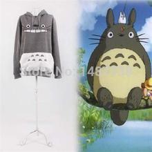New Unisex Sweatshirt Cartoon Totoro Animal Loose Pullover Hoodies Cosplay Costumes For Men/women ropa mujer